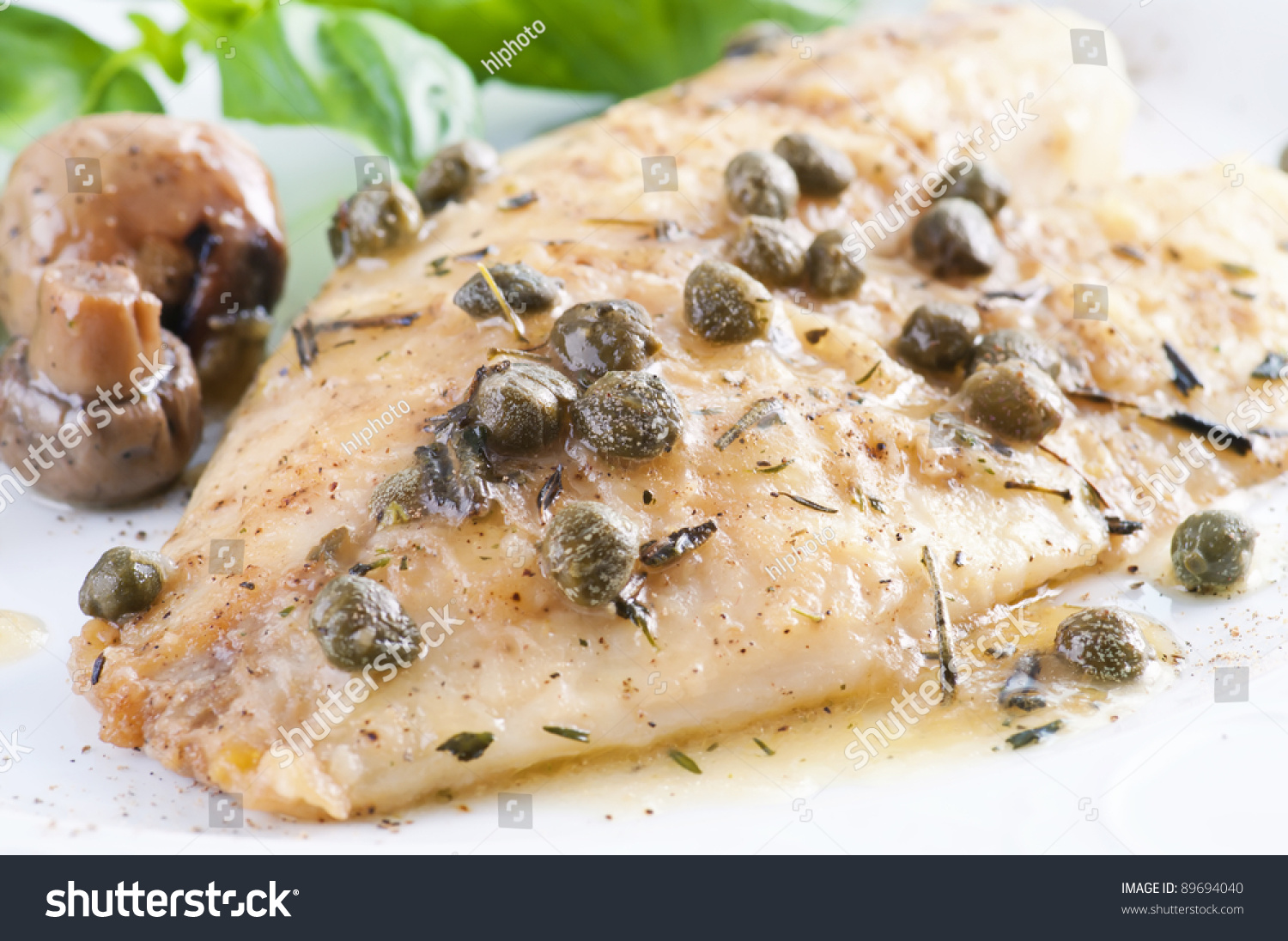 how to cook white sauce for fish fillet