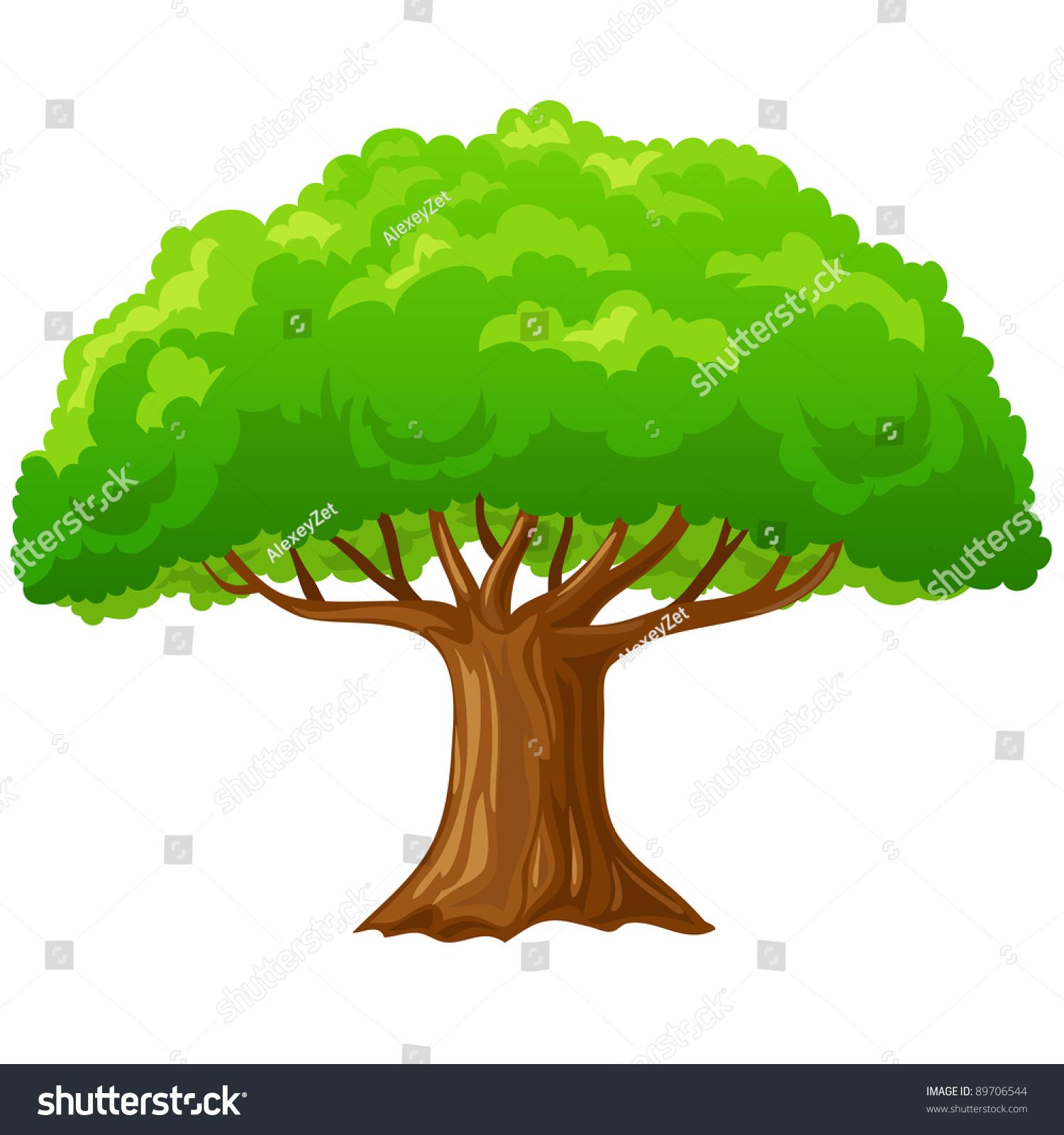 Big Oak Tree Clip Art