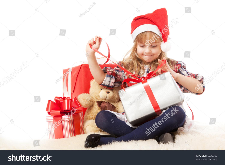 Как дети открывает подарок 38