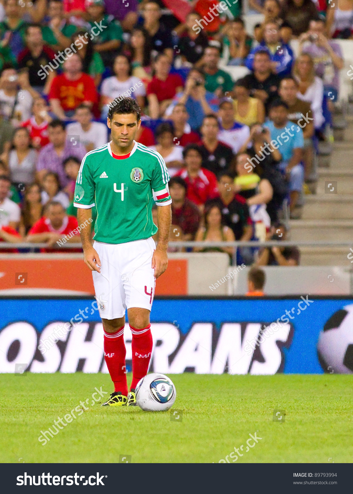 new concept 4d670 6d021 Barcelona September 4 Rafa Marquez 4 Stock Photo (Edit Now ...