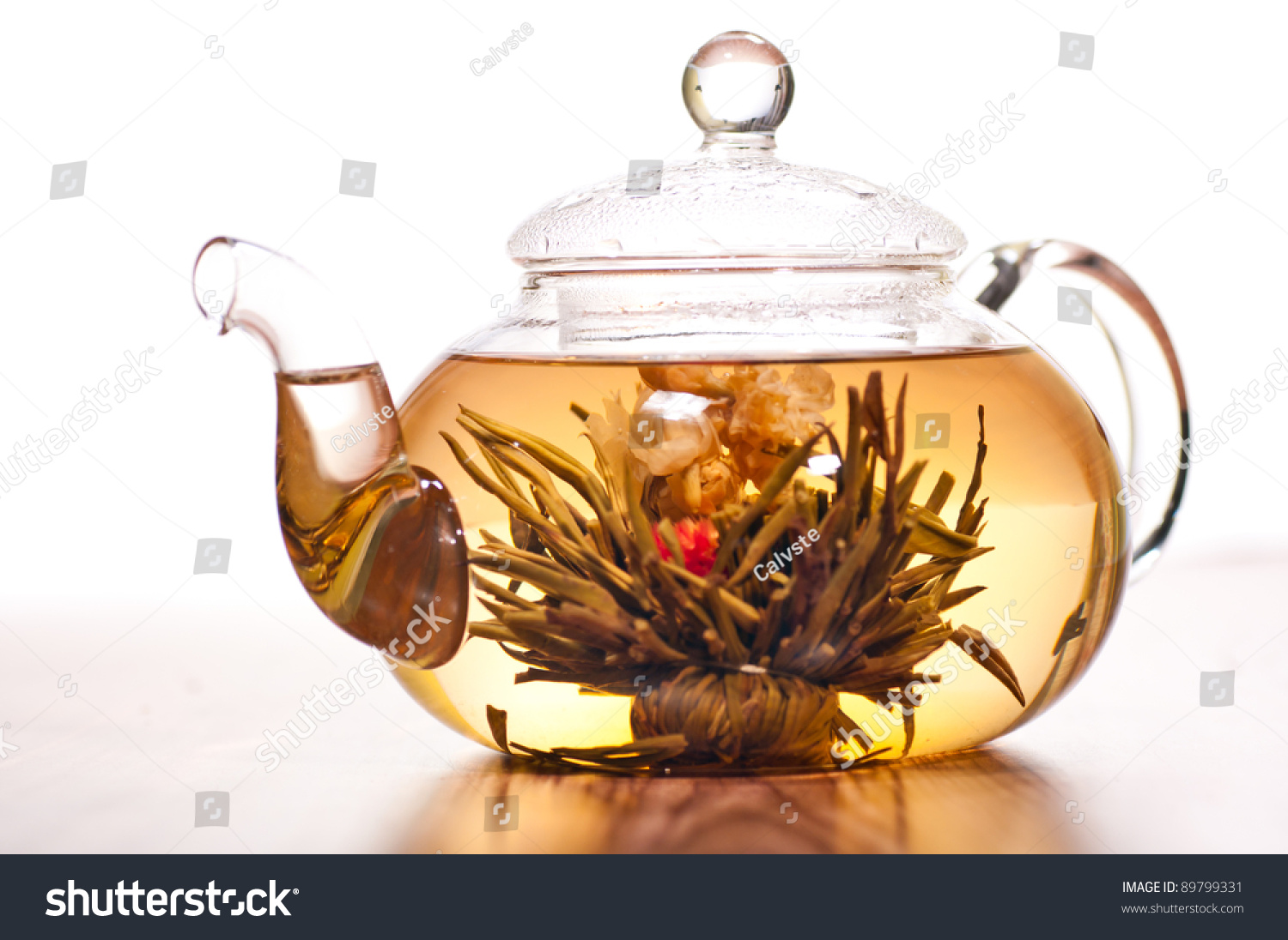 how to make tea in a glass teapot