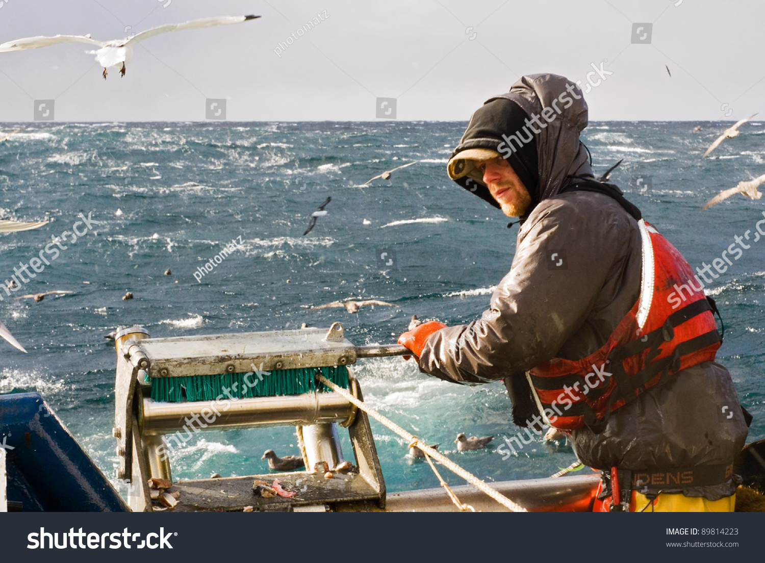 Commercial fishing stock photo 89814223 shutterstock for What is commercial fishing