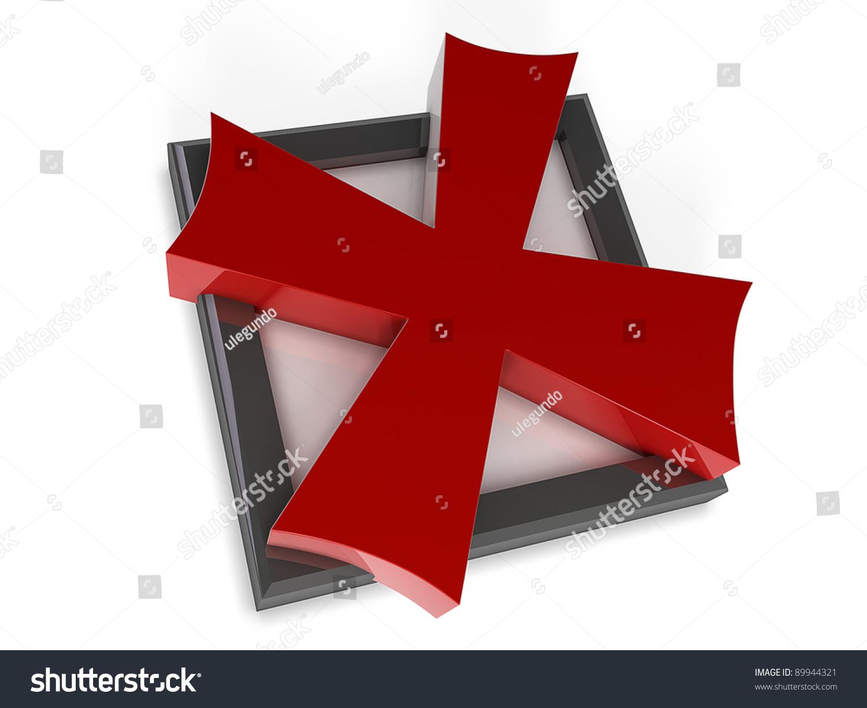 Royalty Free Stock Illustration Of X Mark Box Stock Illustration