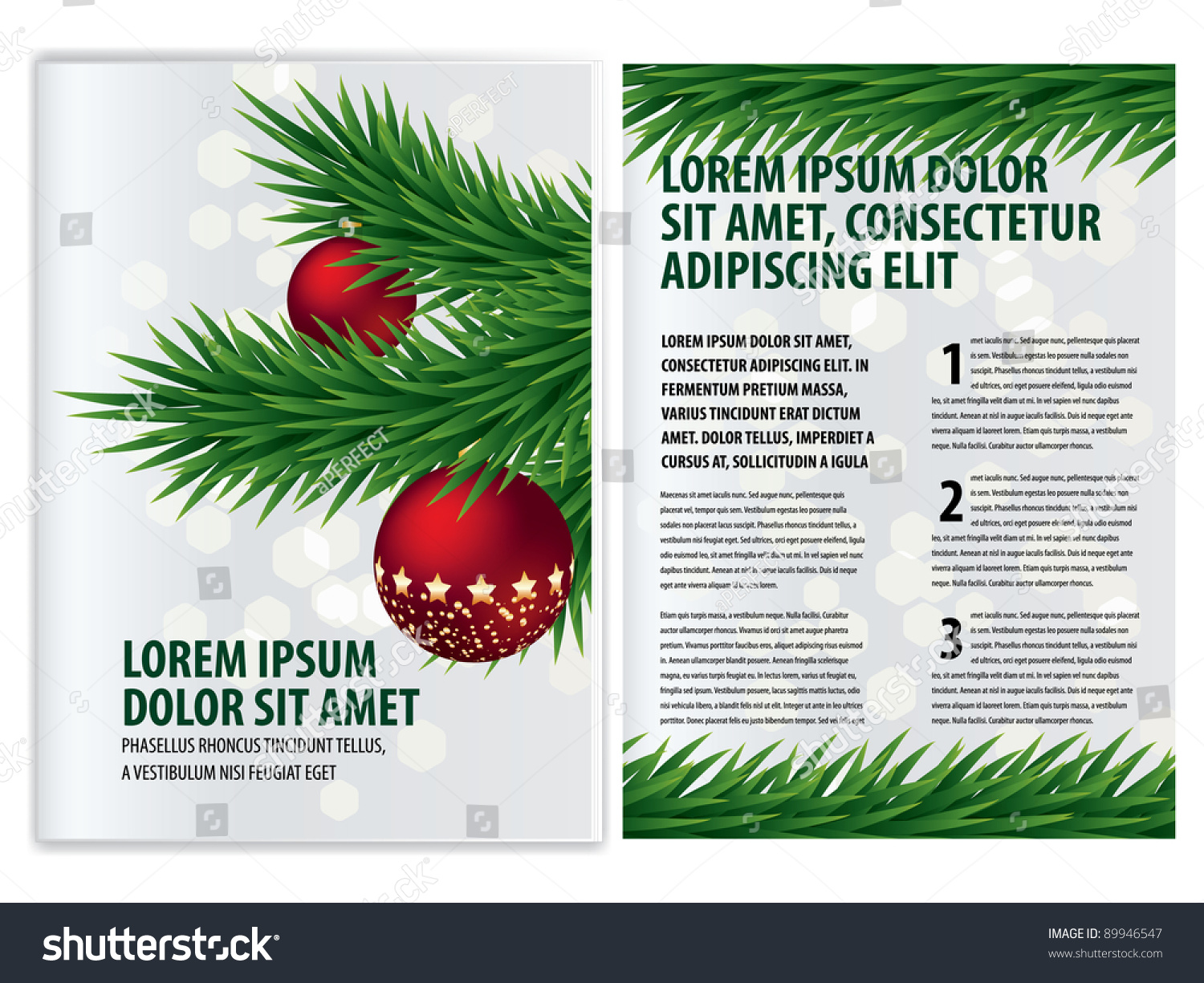vector business brochure christmas flyer template 89946547 vector business brochure christmas flyer template preview save to a lightbox