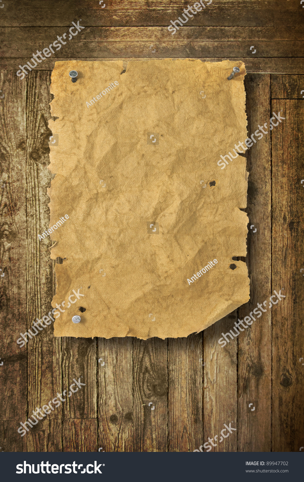 empty wild west wanted poster on stock illustration