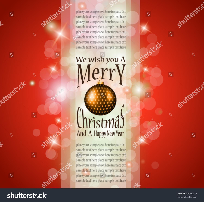 elegant greetings background for flyers or brochure for christmas elegant greetings background for flyers or brochure for christmas or new year events stock vector illustration 90082813 shutterstock