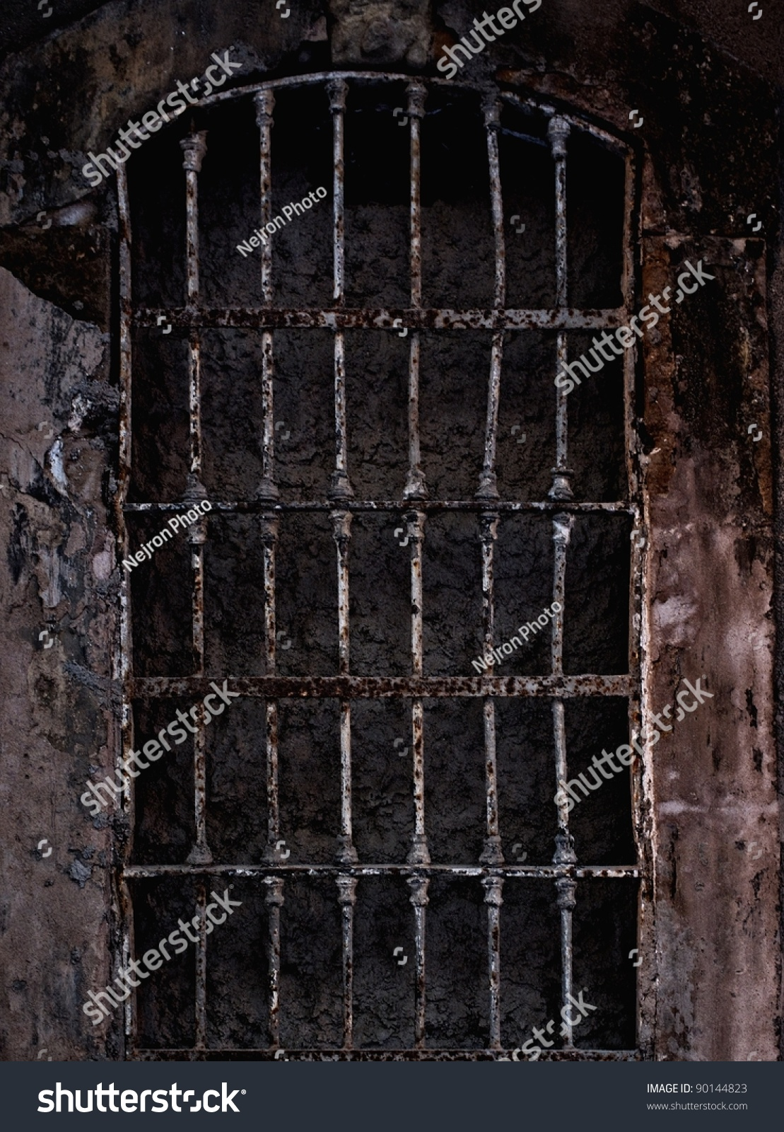 Old Prison Cell Stock Photo 90144823 Shutterstock