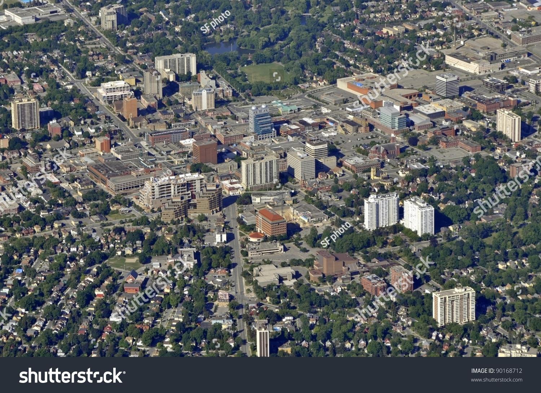 Aerial View Waterloo Victoria Park Area Stock Photo 90168712 ...