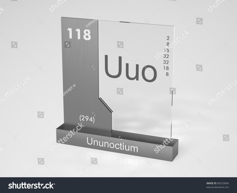 Ununoctium symbol uuo chemical element periodic stock illustration ununoctium symbol uuo chemical element of the periodic table gamestrikefo Gallery