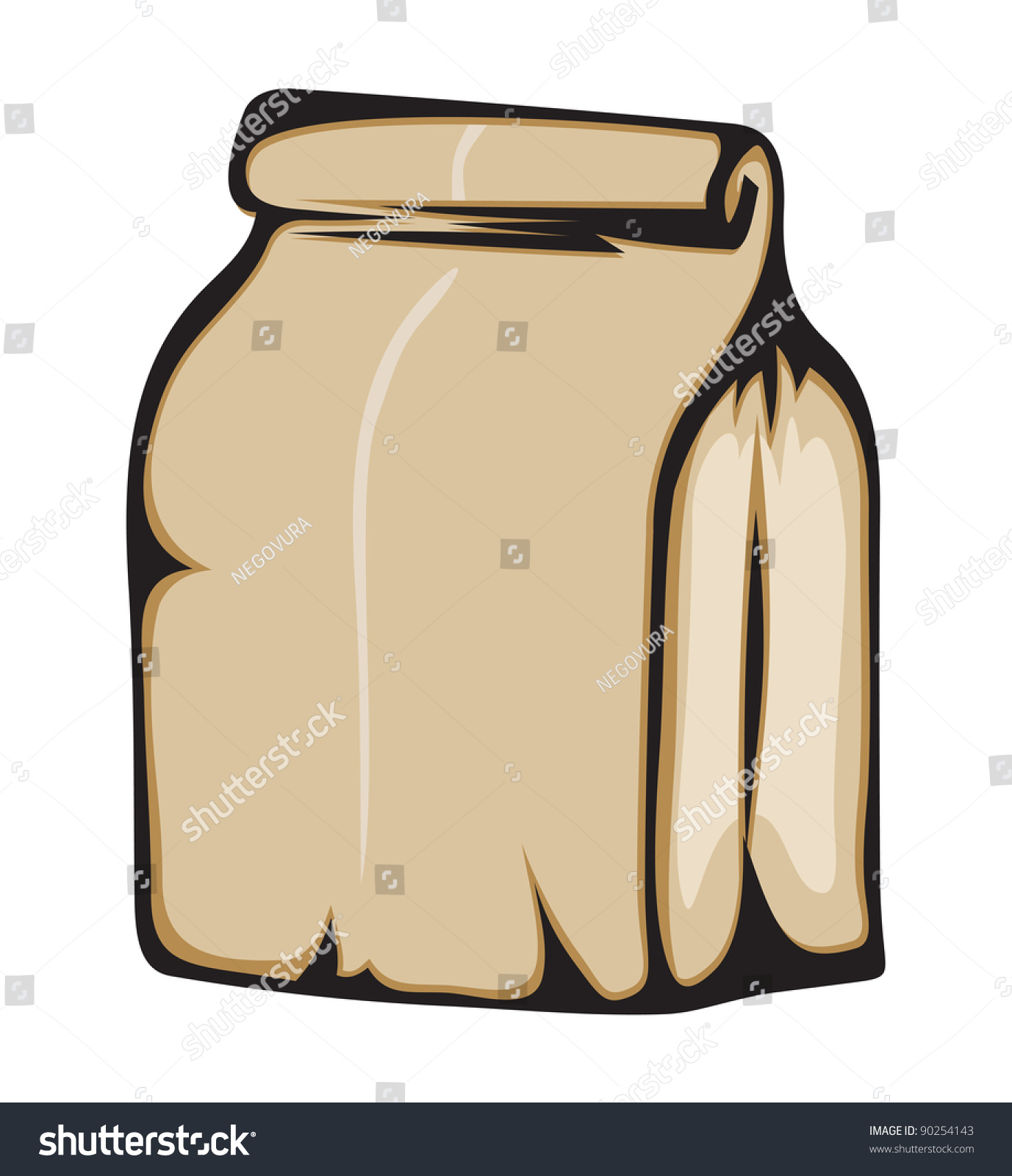 Paper bag vector - Paper Bag Vector Format Is Also Available In My Gallery