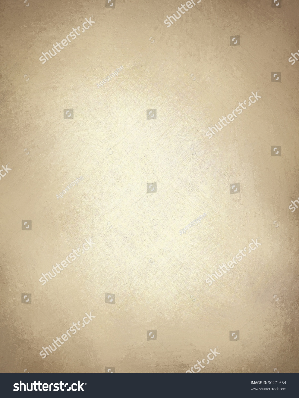 Light Brown Paper Or Brown Background With Vintage Grunge ...