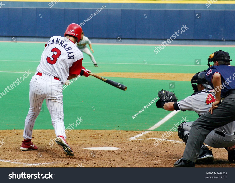 Baseball batta batter dance hair swinging Sweet
