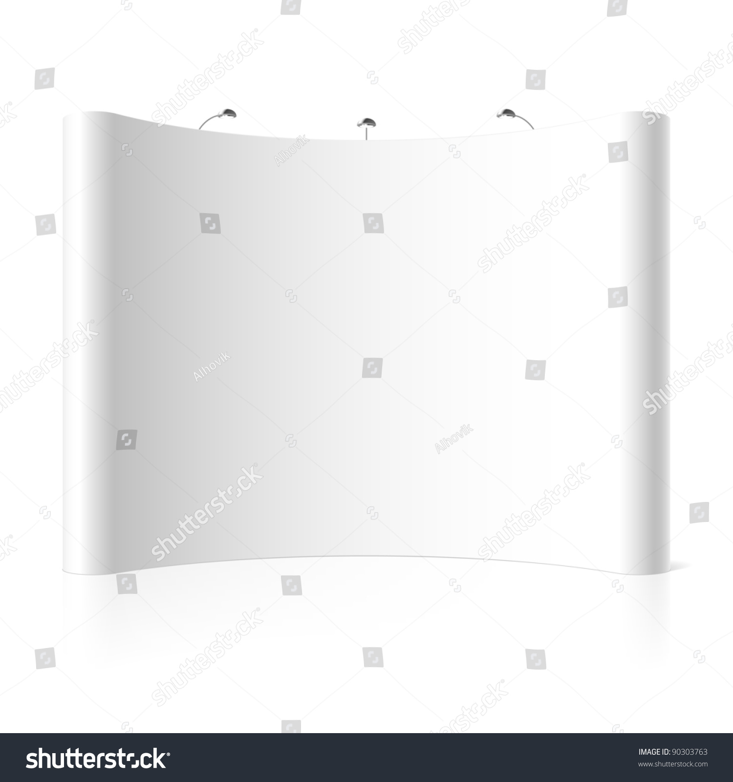 Simple Exhibition Stand Vector : Trade exhibition stand vector shutterstock