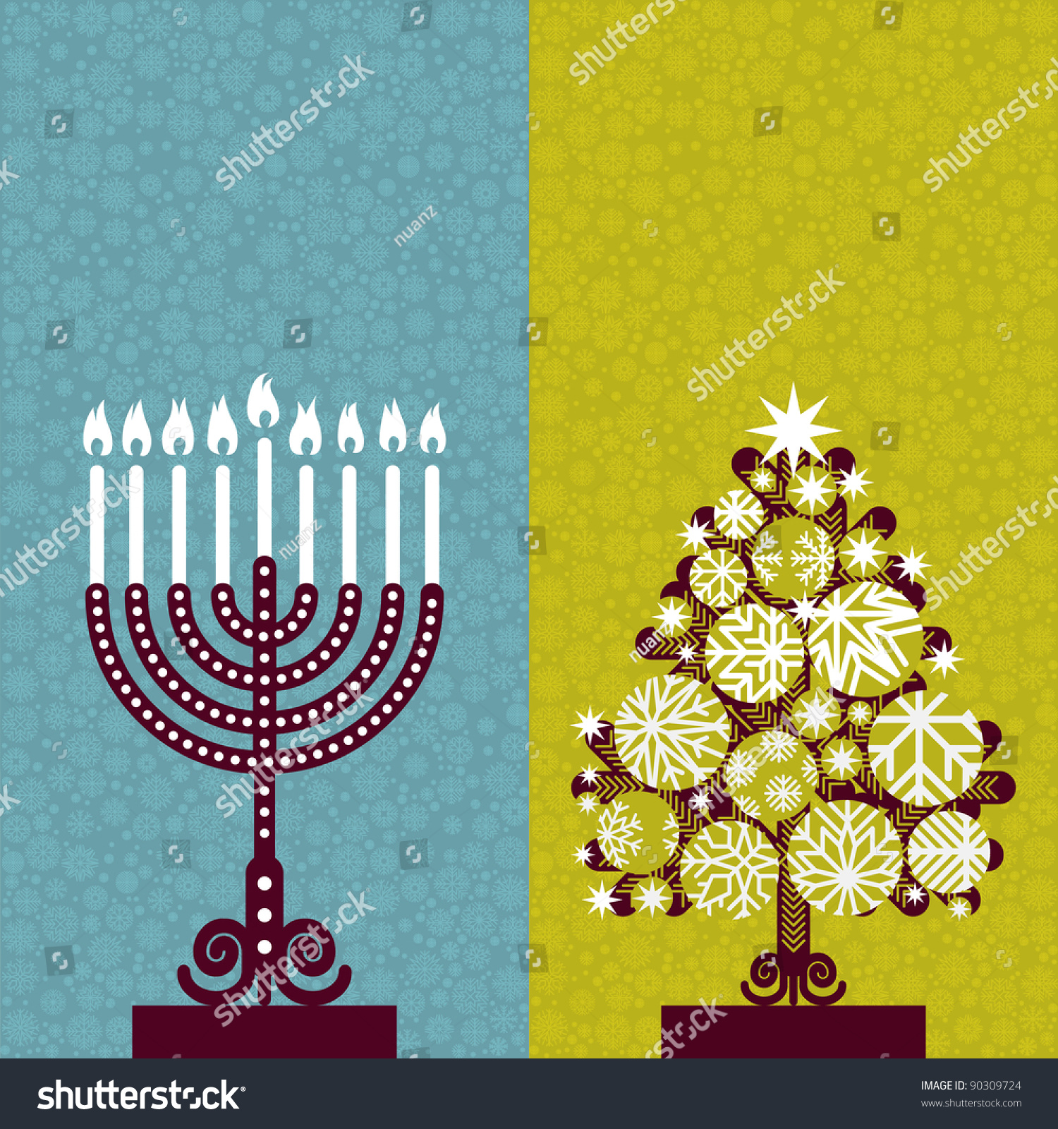 Hanukkah ornaments for a tree - Save To A Lightbox