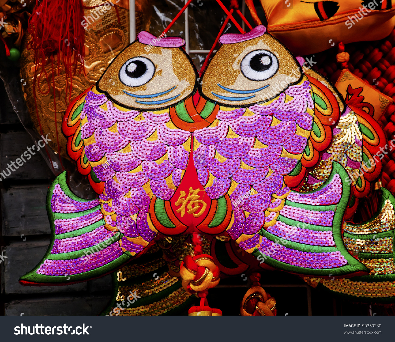 Two lucky cloth fish symbol china stock photo 90359230 shutterstock two lucky cloth fish symbol china symbolize more and are meant to indicate the buycottarizona Gallery