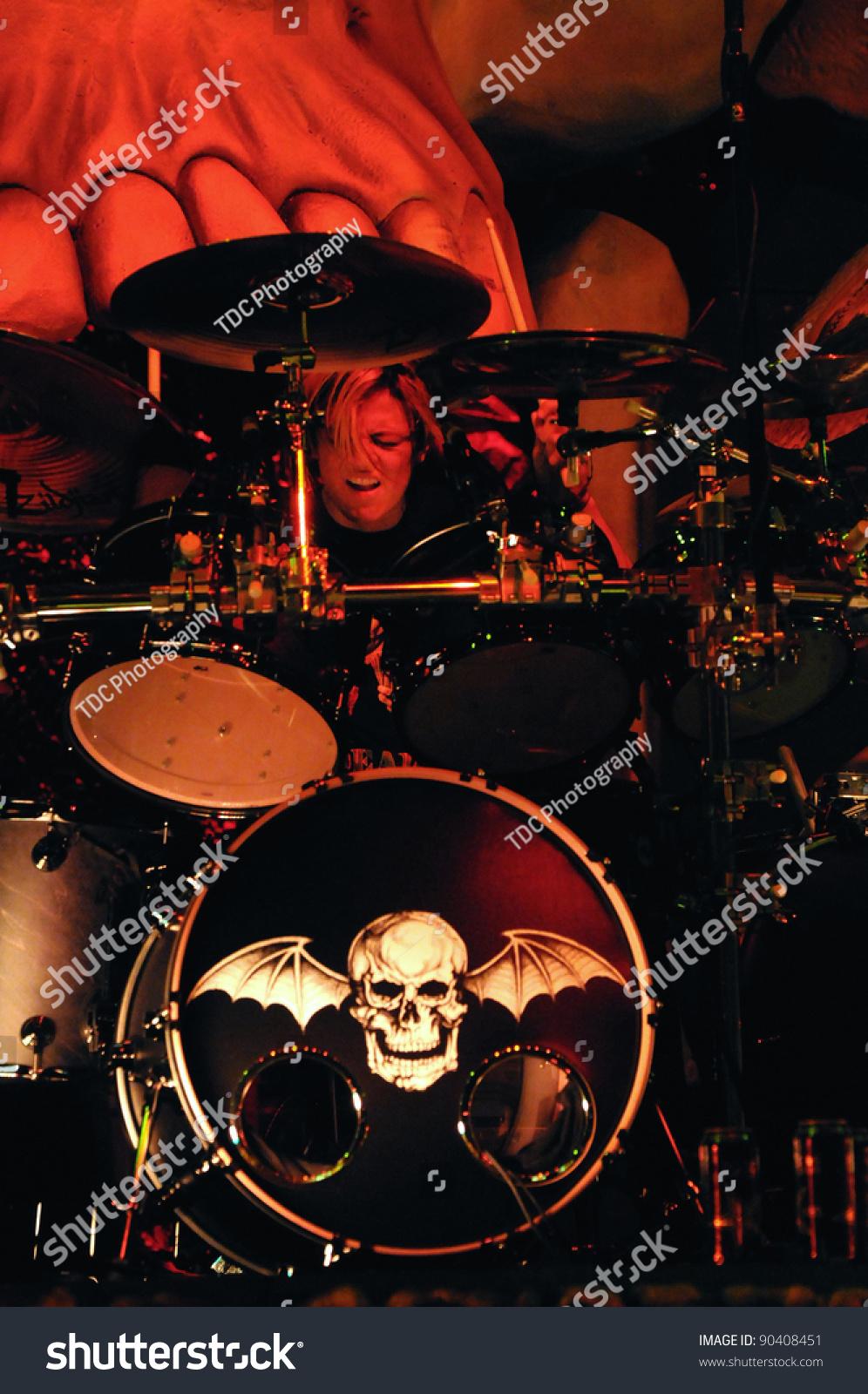 Denver October 05 Drummer Arin Ilejay Of The Heavy Metal