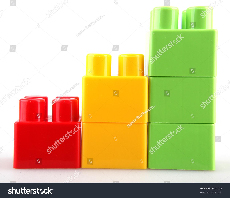 Plastic Building Blocks Stock Photo 90411223 Shutterstock