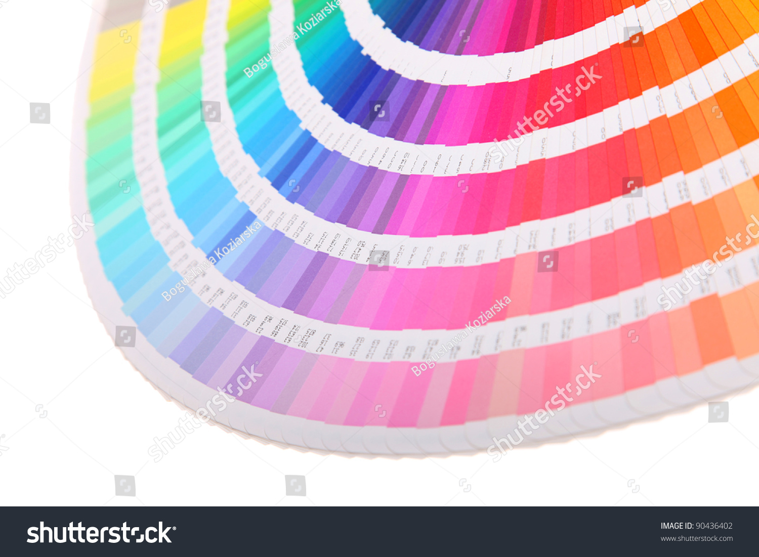 Color Swatch Book Stock Photo (Royalty Free) 90436402 - Shutterstock