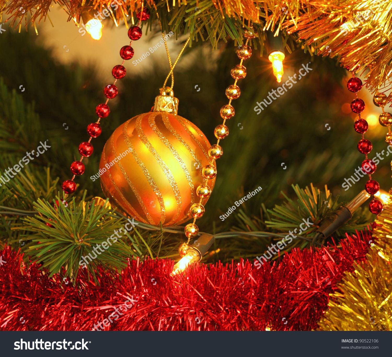 Glass Ball Christmas Tree Ornaments