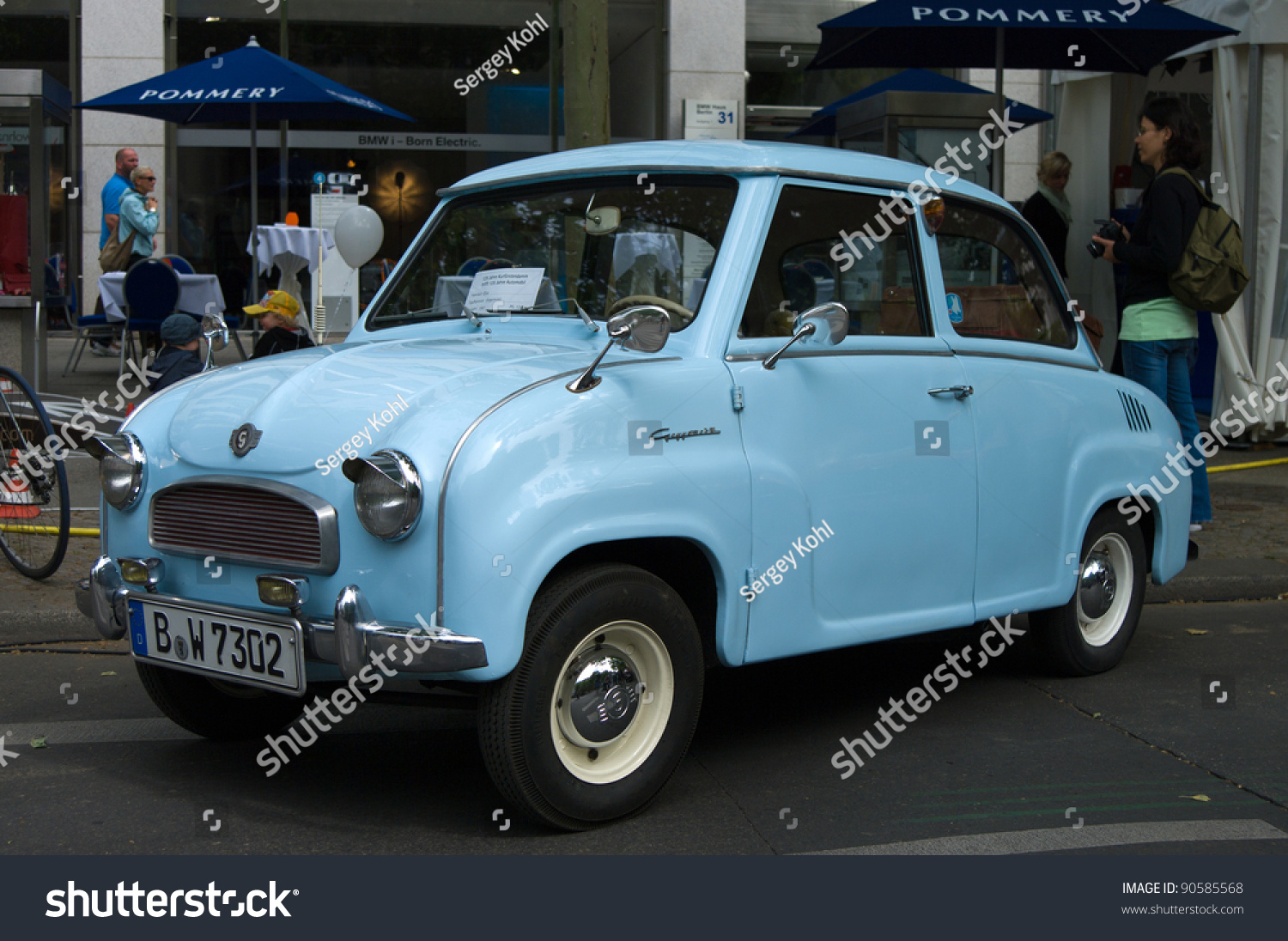 berlin may 28 car goggomobil t250 the exhibition 125 car history 125 years of history. Black Bedroom Furniture Sets. Home Design Ideas