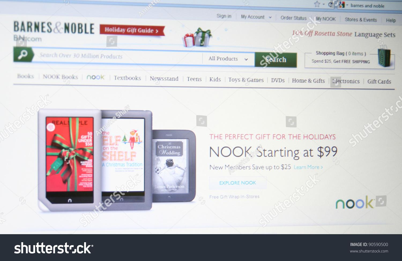 NEW YORK DEC 9 Barnes Noble Stock Photo (Edit Now) 90590500 ...