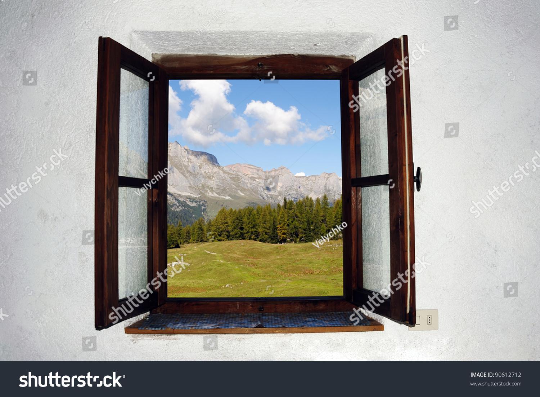 Open Window Outside