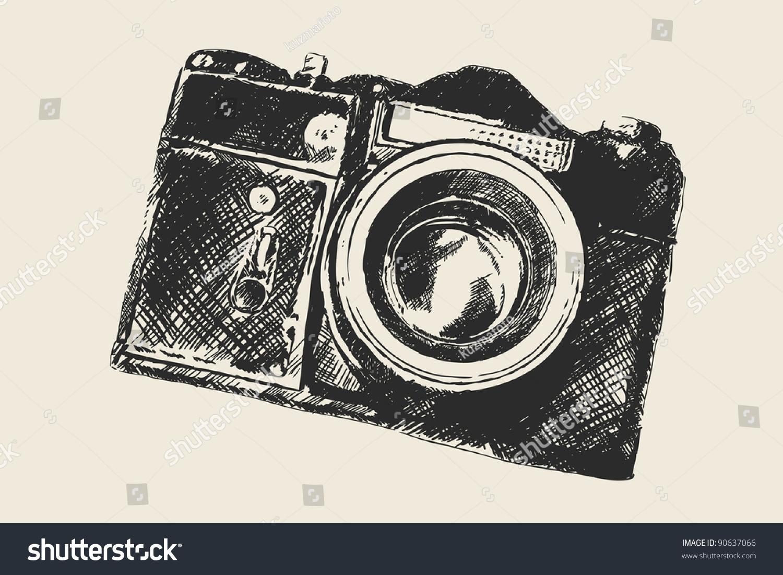 Old School Photography Stock Vector 90637066 - Shutterstock