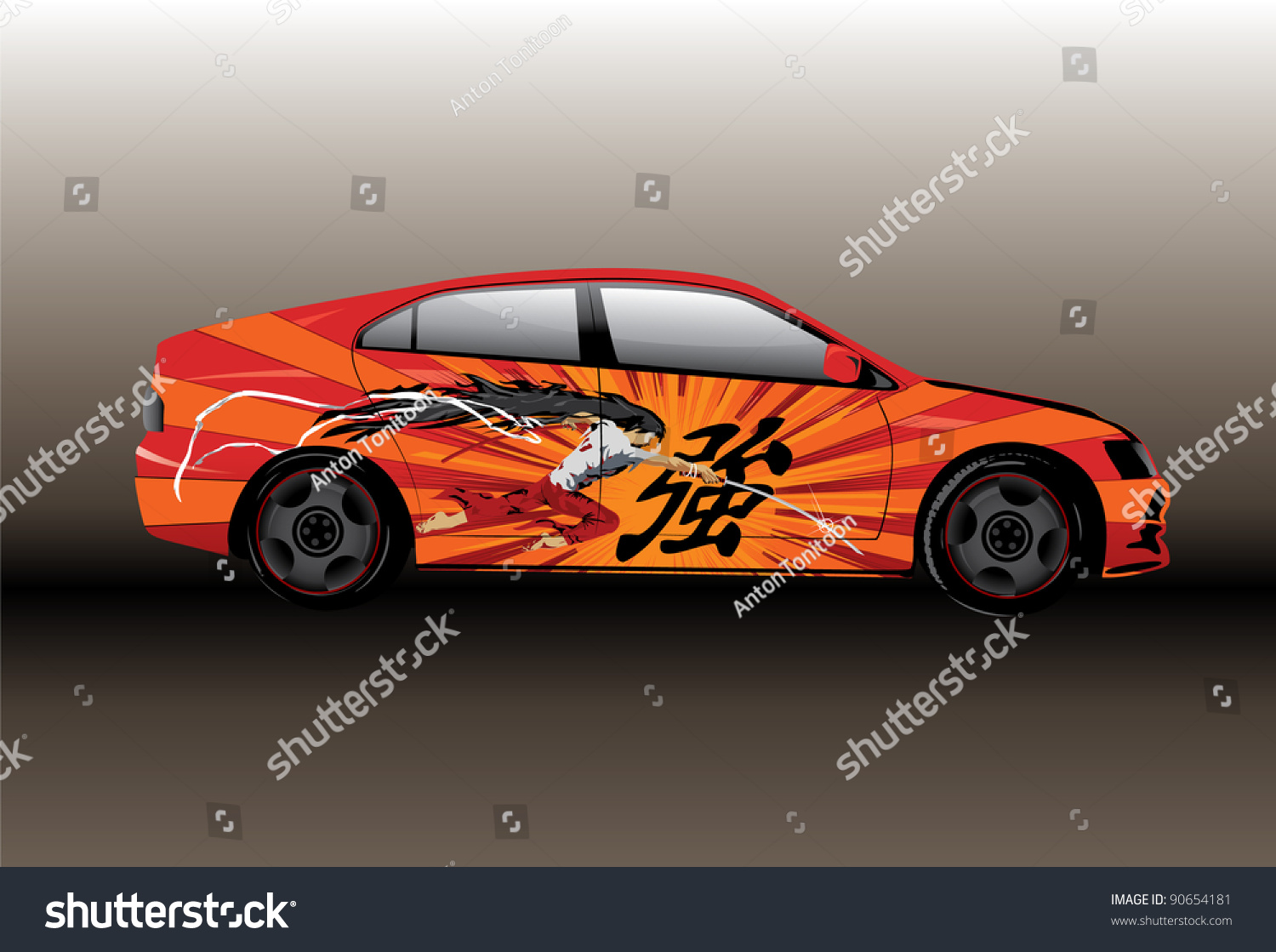 Design your car sticker - This Is Designed For Car Vinyl Stickers To Do Your Car Beautiful And Interesting Chinese