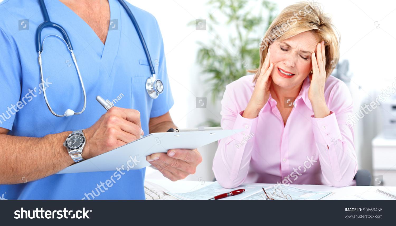 Doctor Psychiatrist Woman Patient Mental Health Stock Photo Edit