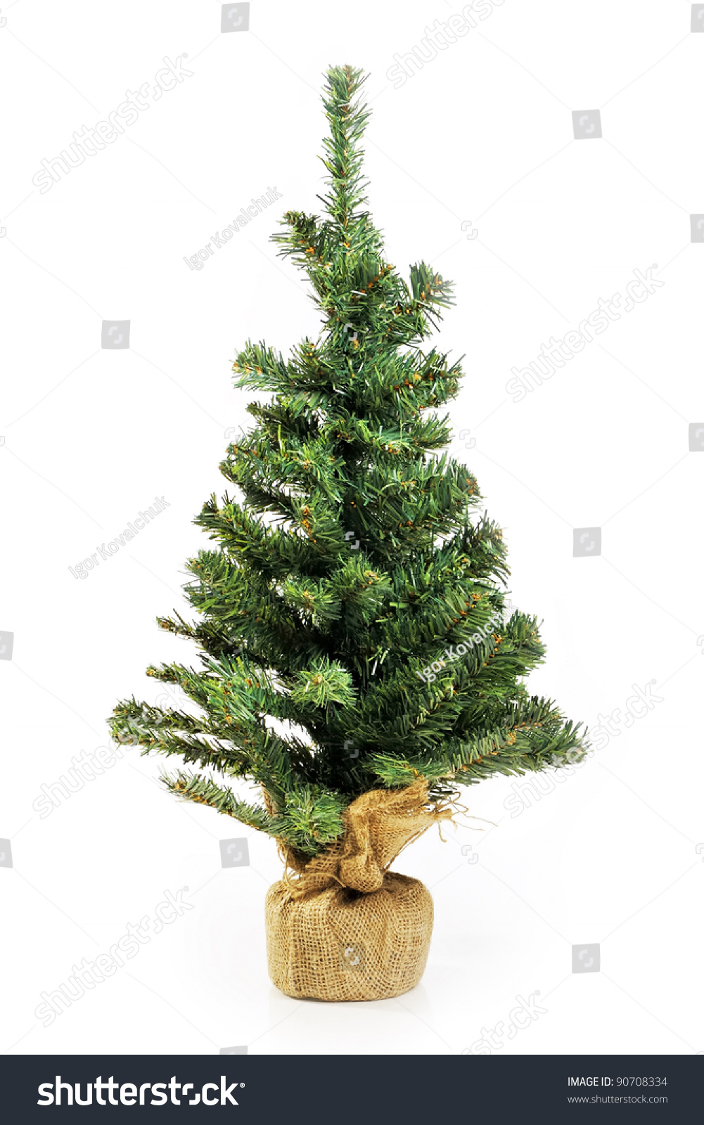 Christmas Tree Without Lights Part - 21: Decoration Image Idea