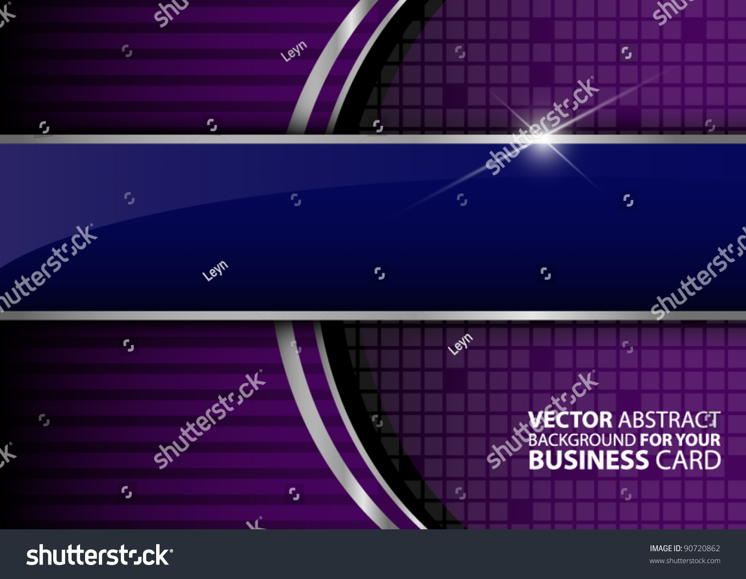 Business Background Your Business Card Stock Vector