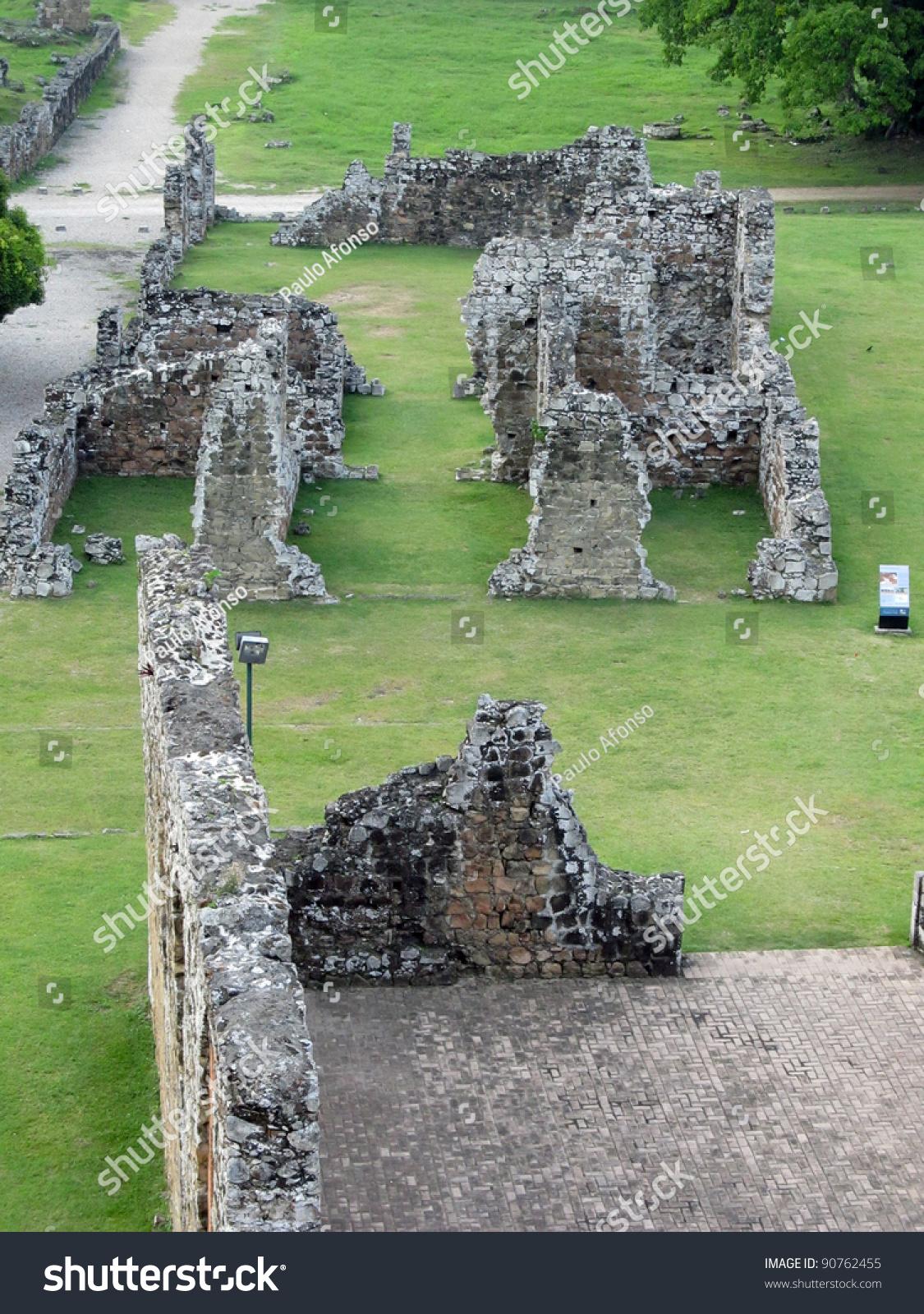 Panama la vieja old spanish city unesco heritage ruins for The bishop house