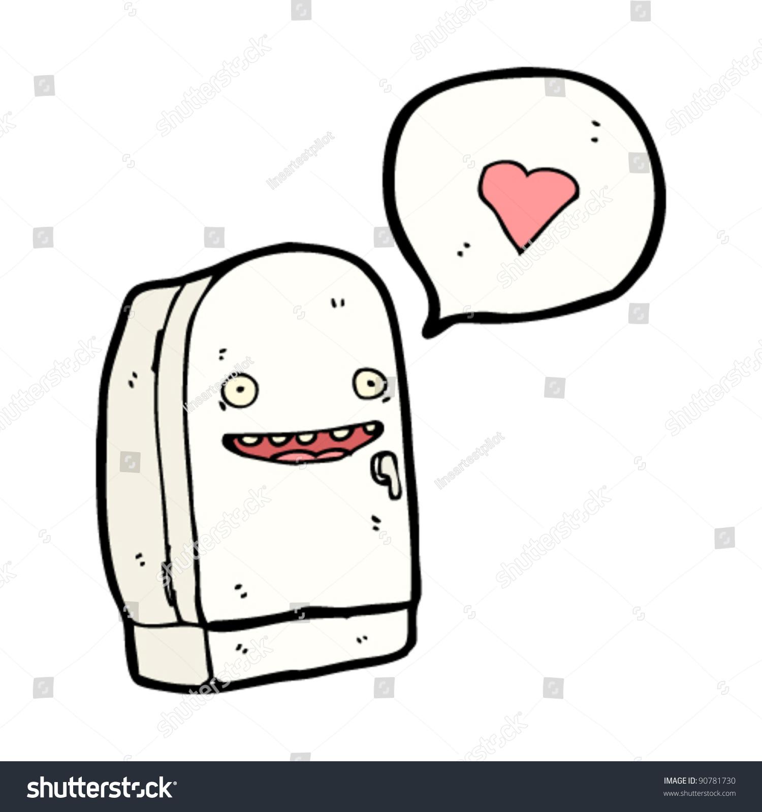 happy refrigerator clipart. happy refrigerator cartoon clipart