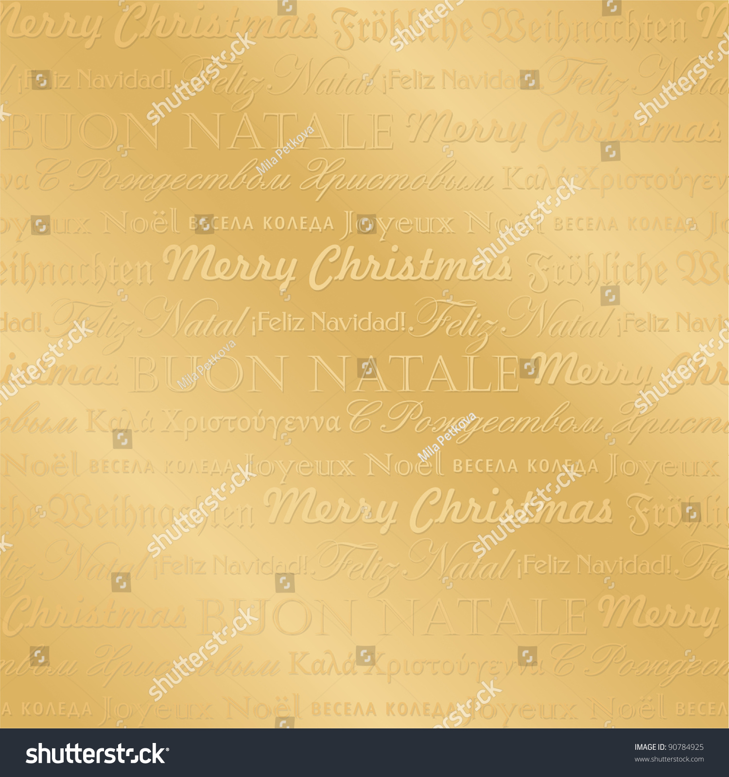 Seamless christmas typography pattern vector illustration stock seamless christmas typography pattern vector illustration seasonal greetings in english german french m4hsunfo