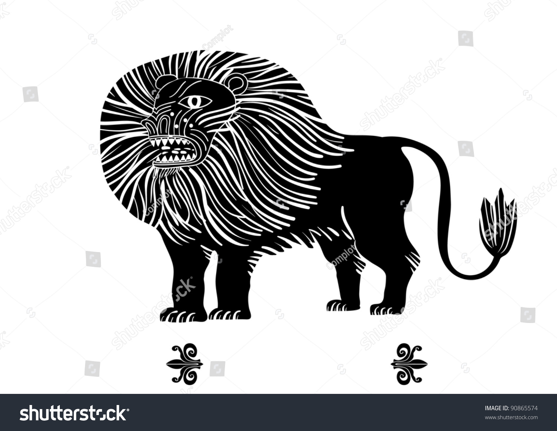 Lion roar vector - photo#19