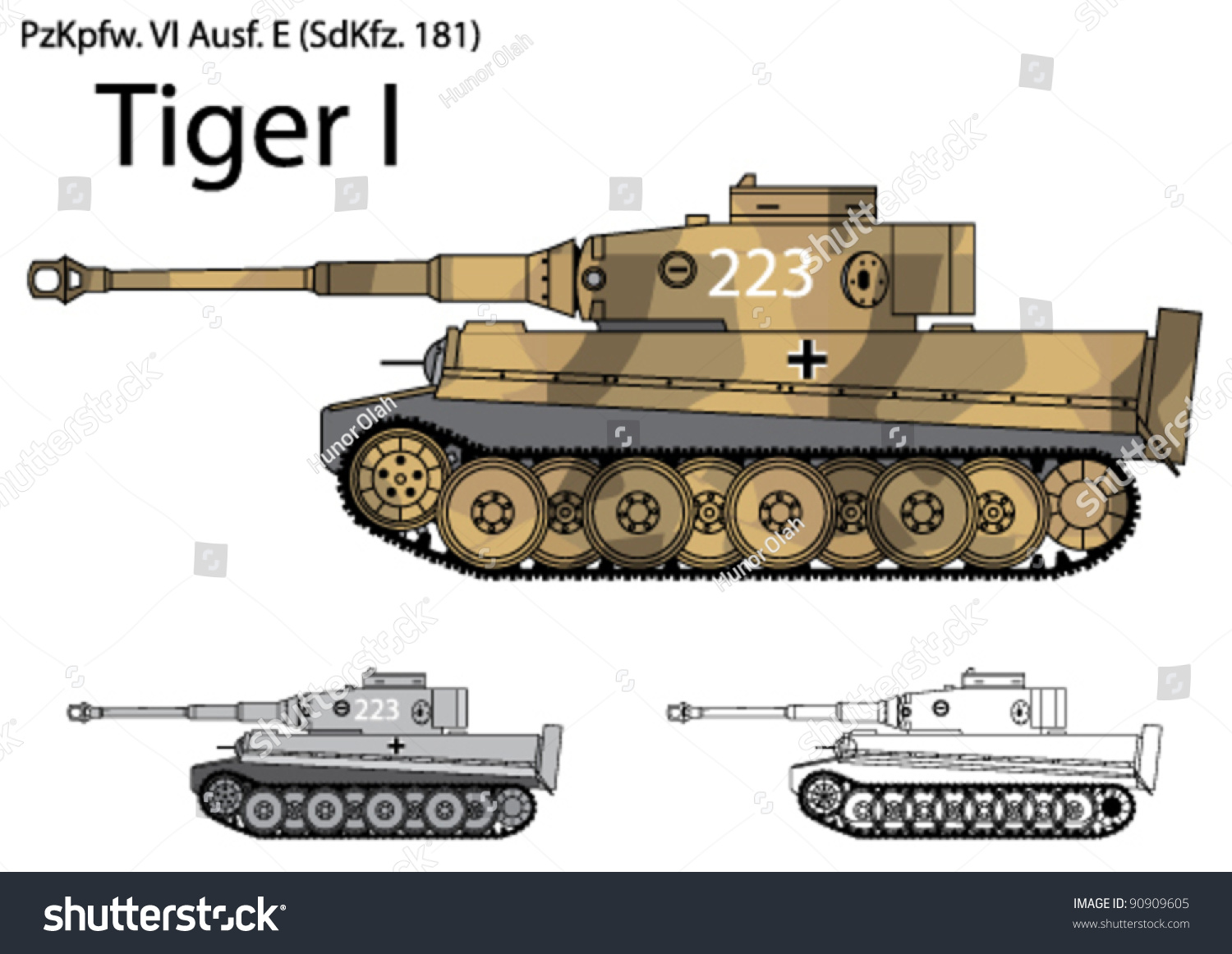tiger tank side view 2 choice image