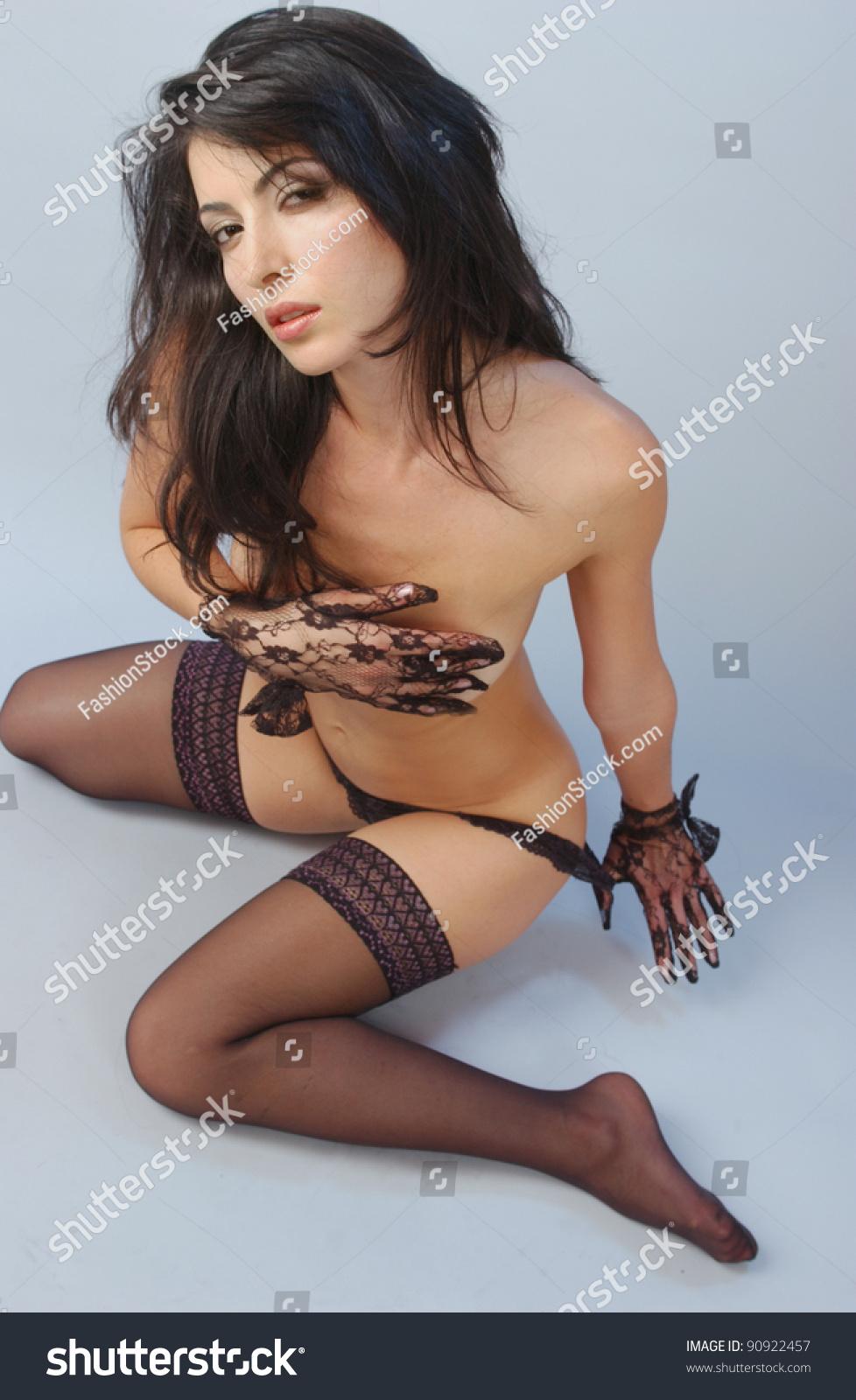 Oil wrestling naked women
