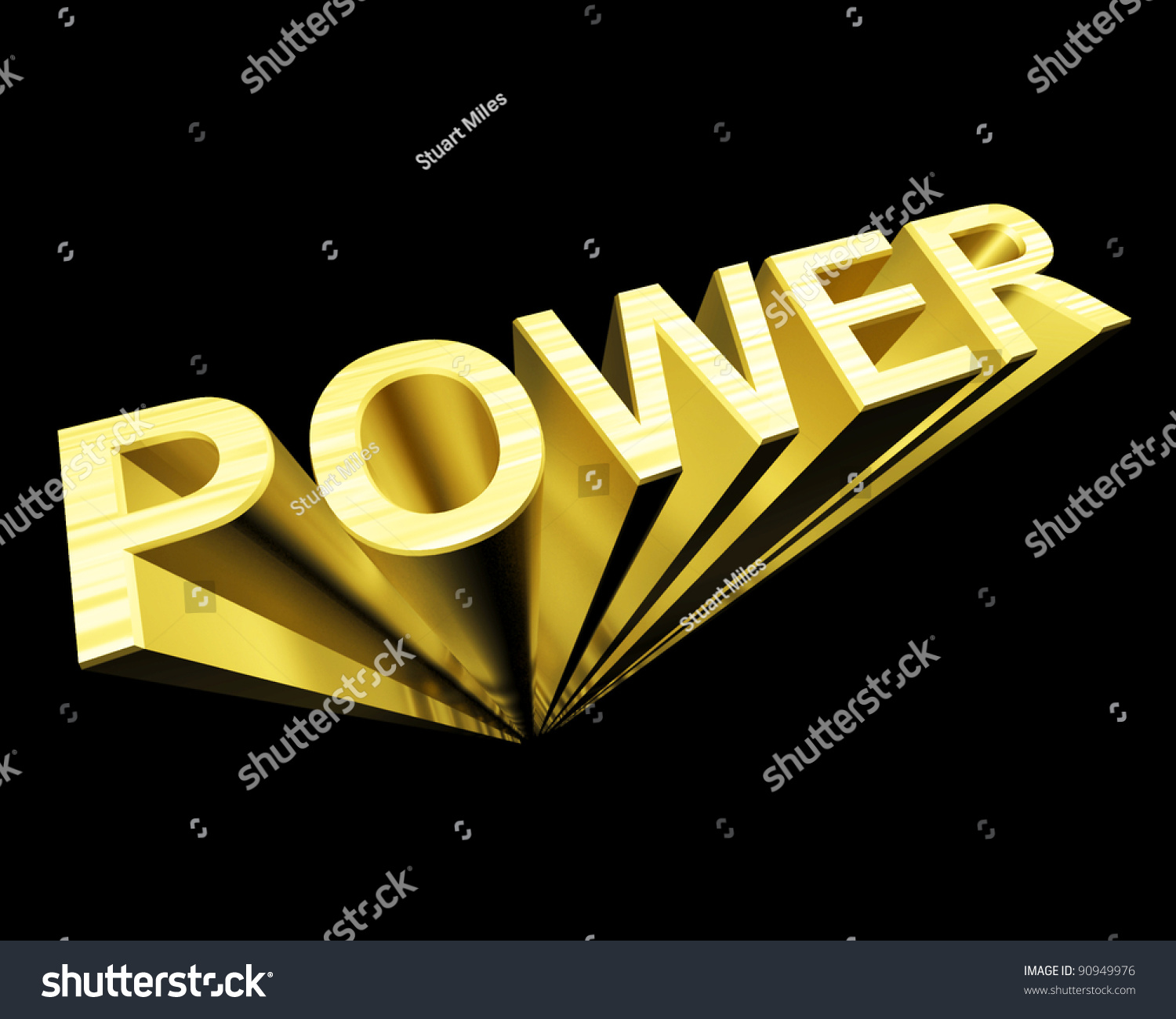Power 3d text gold symbol energy stock illustration 90949976 power 3d text in gold and as symbol for energy and industry biocorpaavc Gallery