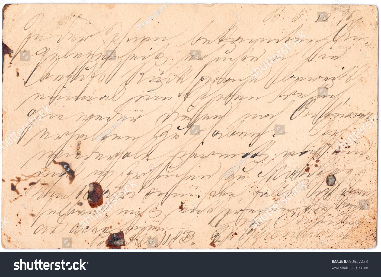 Written on paper