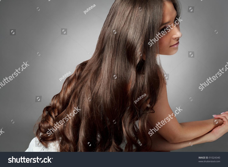 Блестящие волосы. Как сделать волосы блестящими в домашних 74