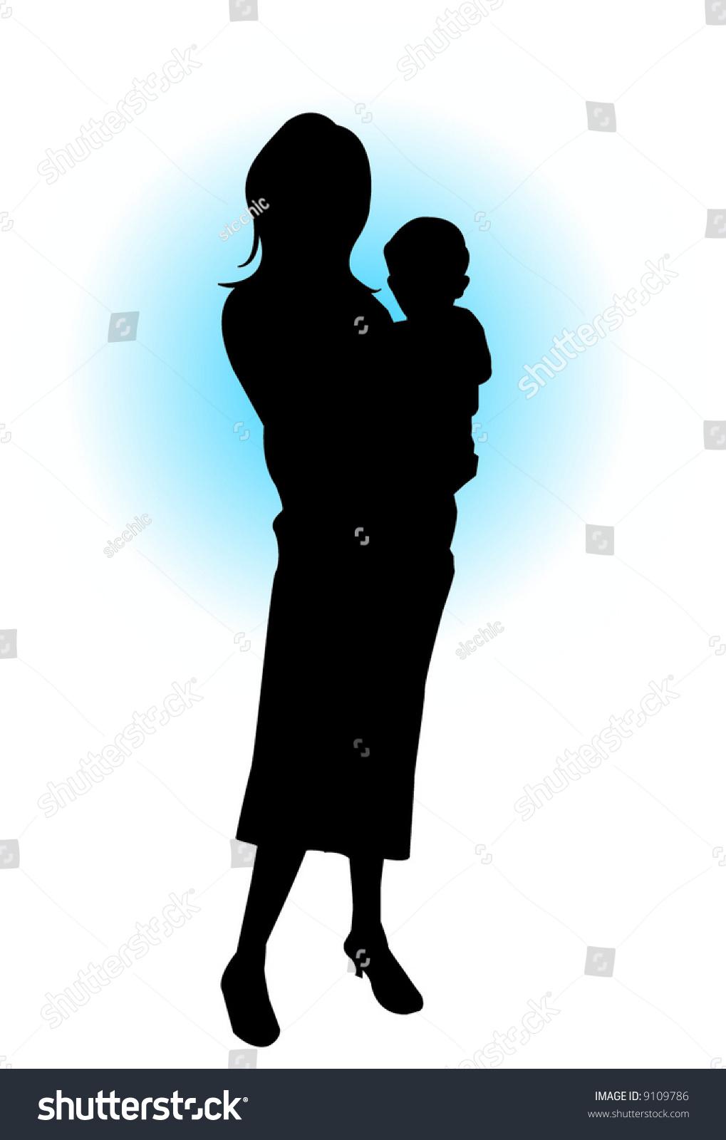 Bond Between Mother Son Stock Vector (Royalty Free) 9109786