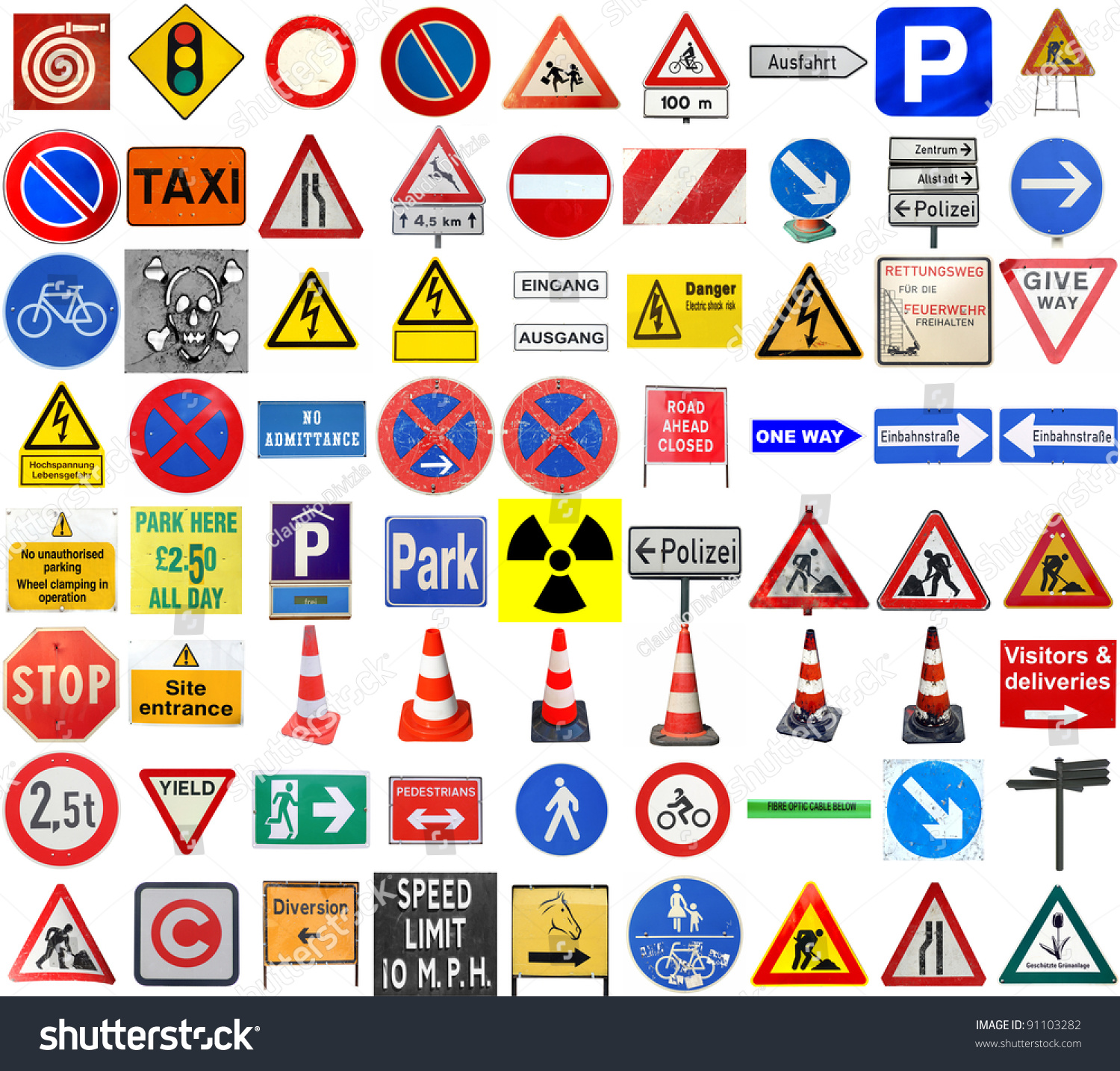 road signs in english Warning signs and signs giving orders information signs special and supplemental signs road expert information traffic signs in germany.