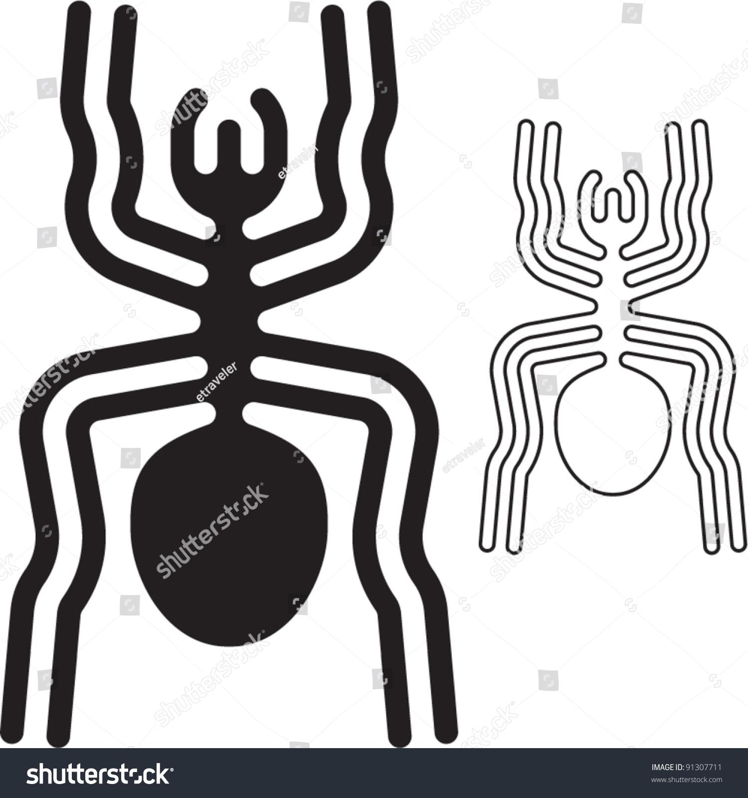 Wallpaper with Nazca Lines (spider) | Wondermondo