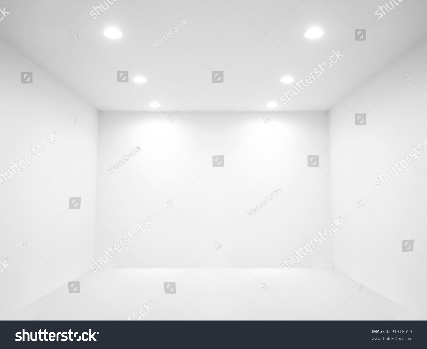 Spotlight And Empty Space Stock Photo 91318553 Shutterstock