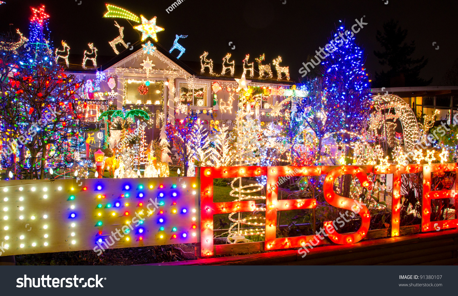 Nice Beautiful Christmas Lights Home Amazing Pictures