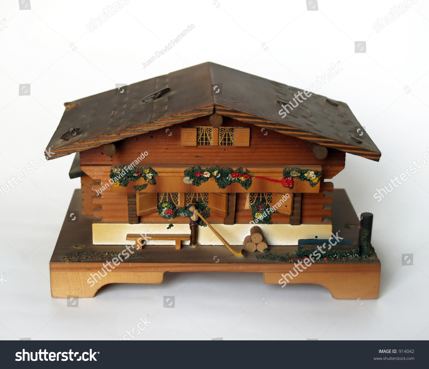 Music boxclassic tirol house stock photo 914042 shutterstock for Old house music classics