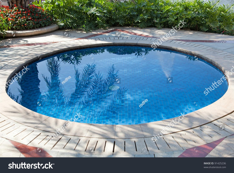 Small Swimming Pool Yard Stock Photo Edit Now 91425236 Shutterstock