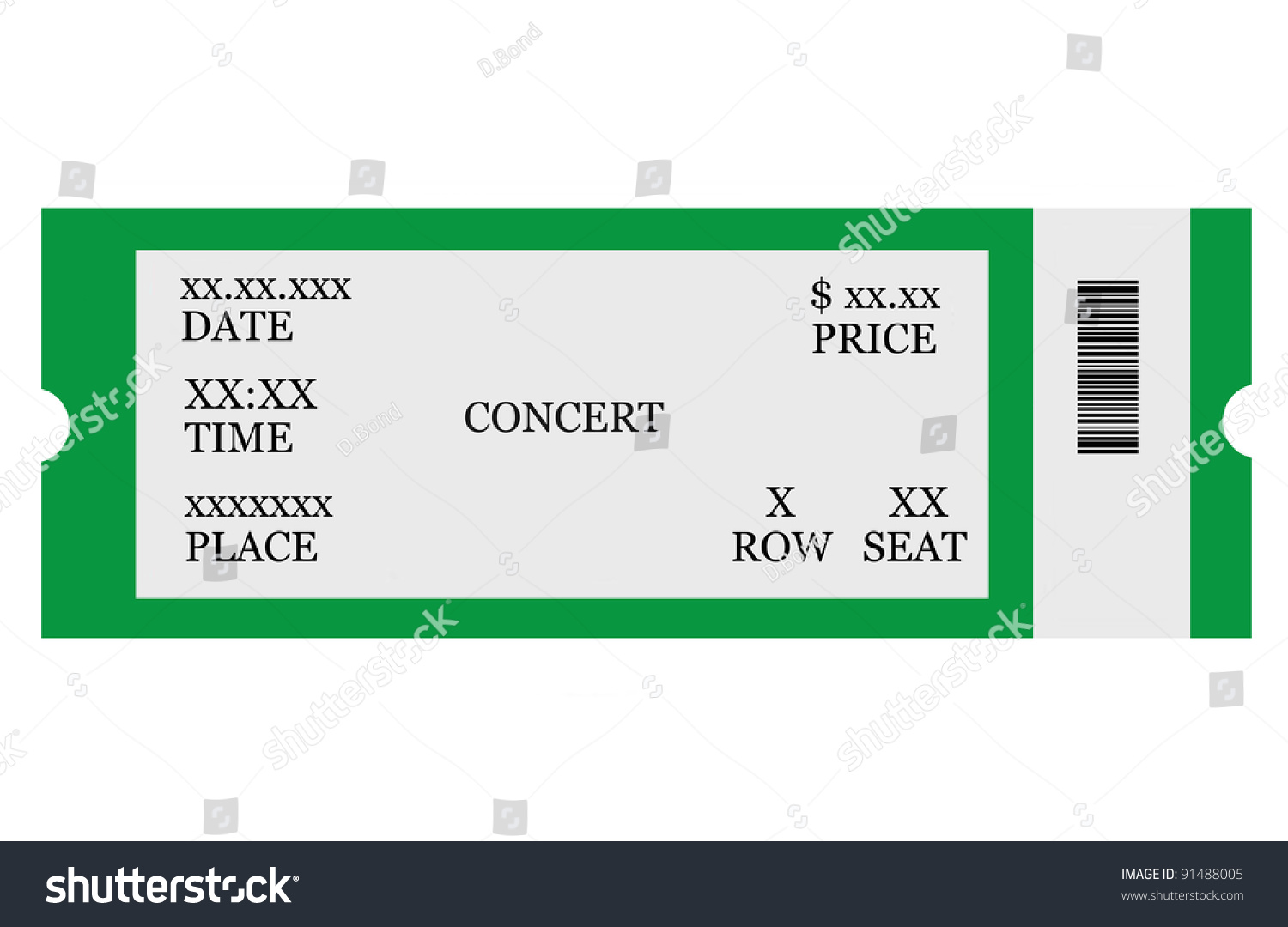 make your own concert tickets – Make Your Own Tickets Template