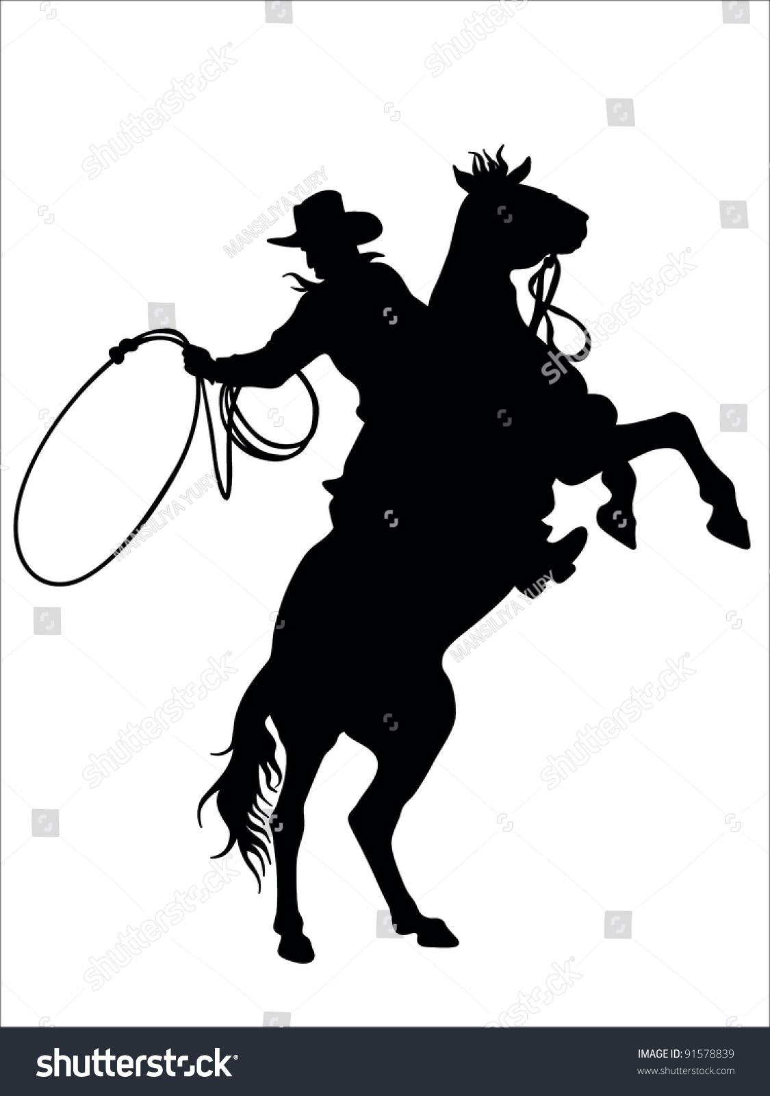 Cowboy vector - photo#14