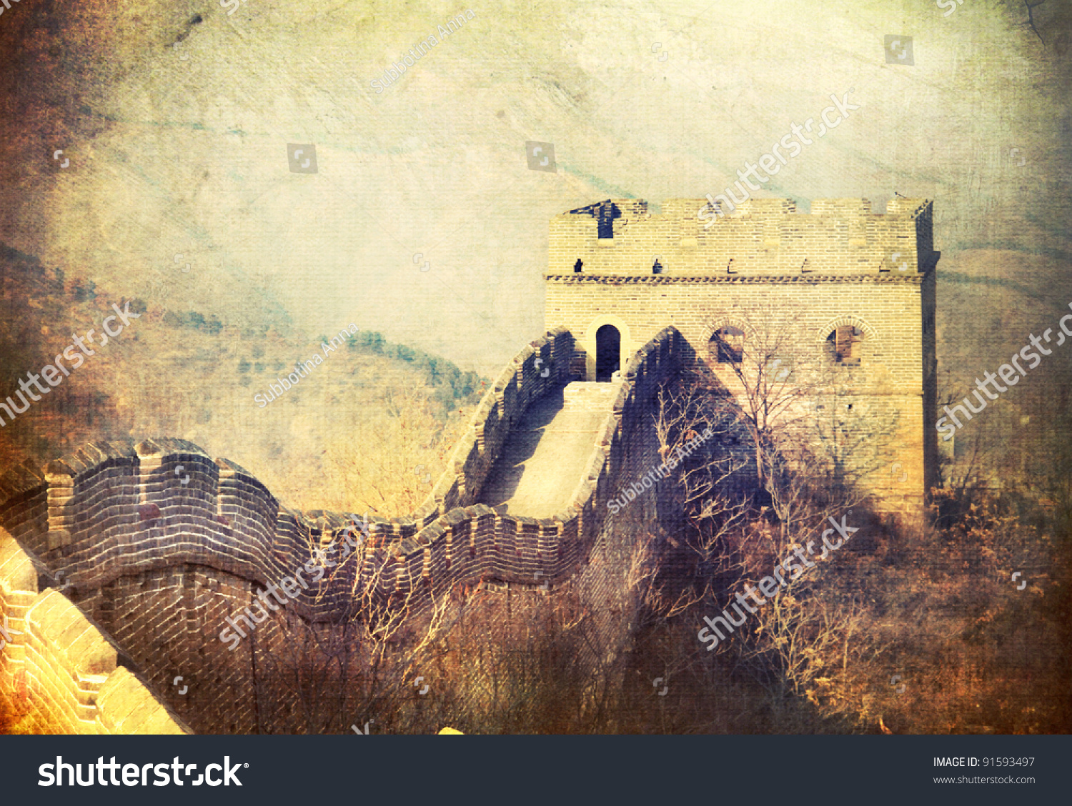 Old Fashioned Great Wall Of China Project Ideas Motif - Wall Art ...